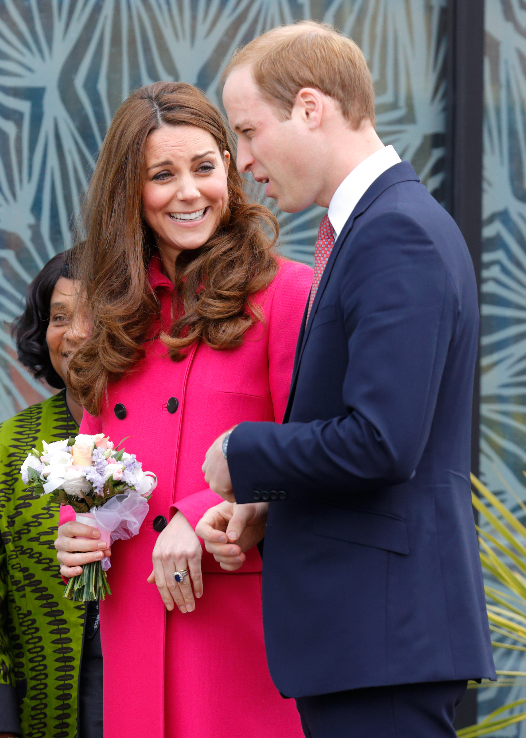 Prince William Kate Middleton Laugh Getty