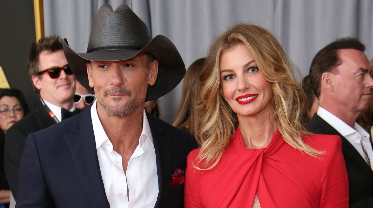 Tim McGraw Faith Hill Getty