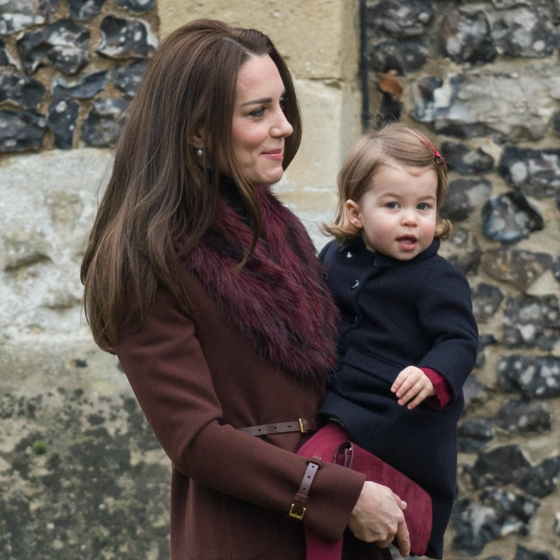 Princess Charlotte winter coat