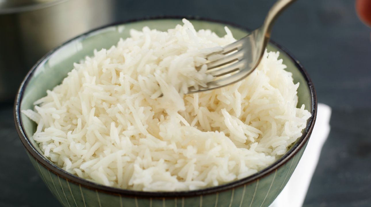 Image result for boil rice in  friege