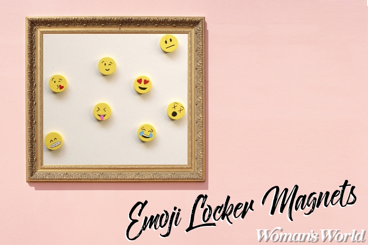 Emoji Locker Magnets
