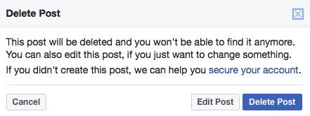 delete fb posts 3