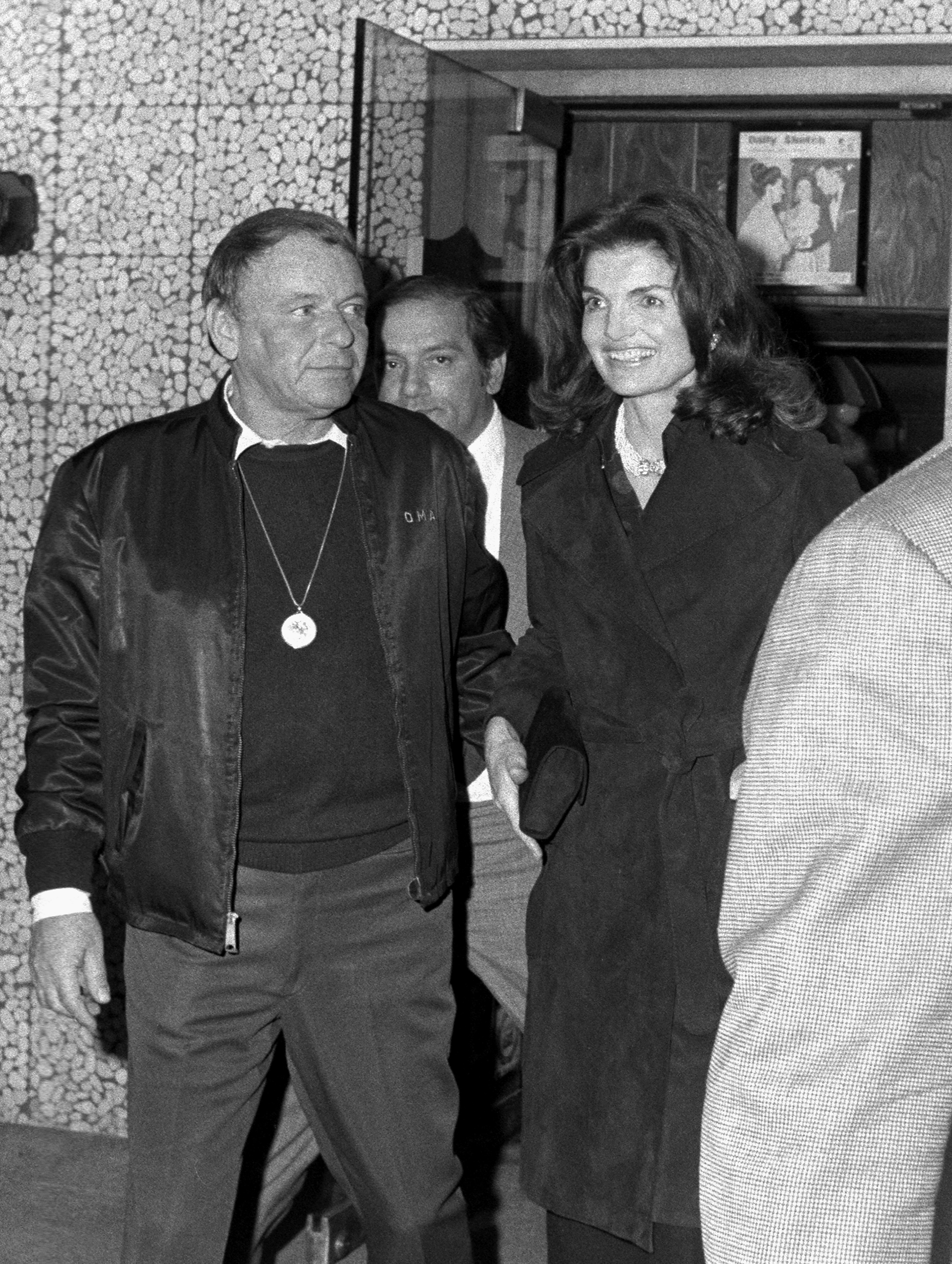Frank Sinatra Jackie Kennedy Getty Images