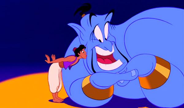 Alladin and Genie