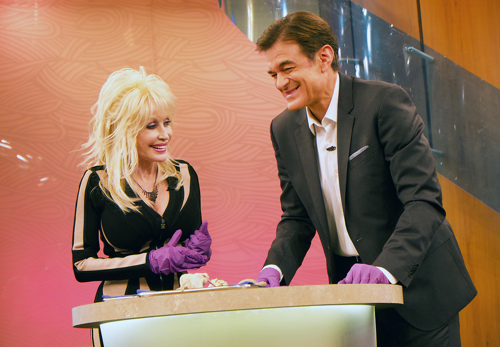 dolly parton with dr oz