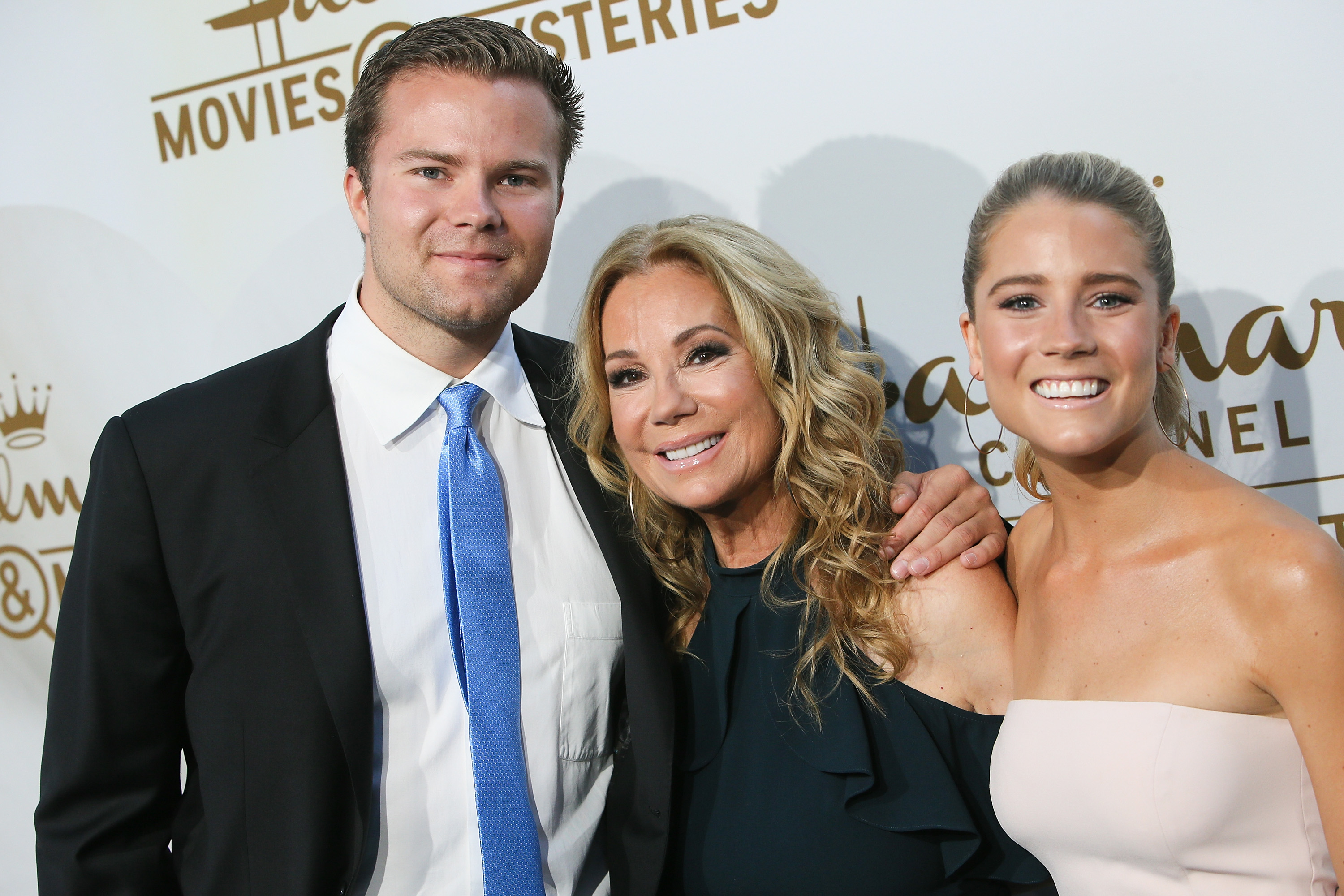 Kathie Lee Gifford and Kids, Getty