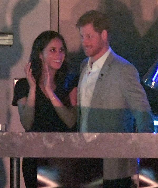 Prince Harry Meghan Markle Engaged Invictus Games