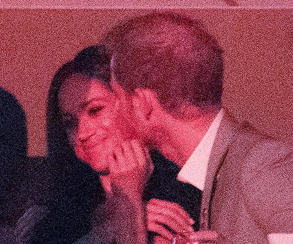 Prince Harry Meghan Markle Engaged Invictus Kiss