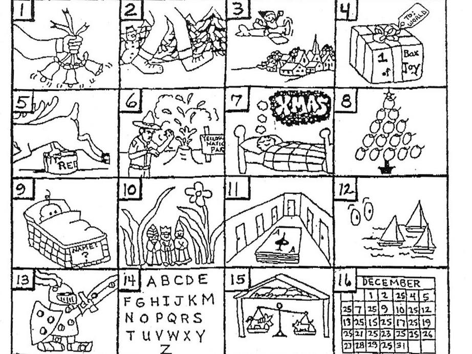 christmas song puzzle