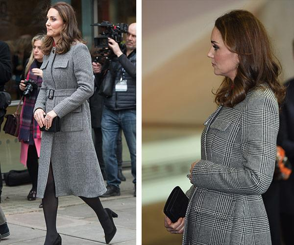 kate grey coat