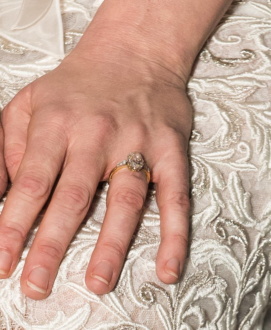 kristen dunst ring