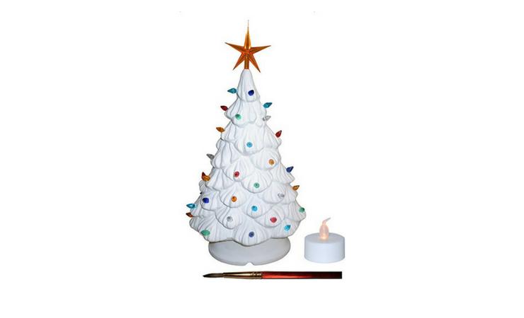 Unfinished Ceramic Christmas Tree
