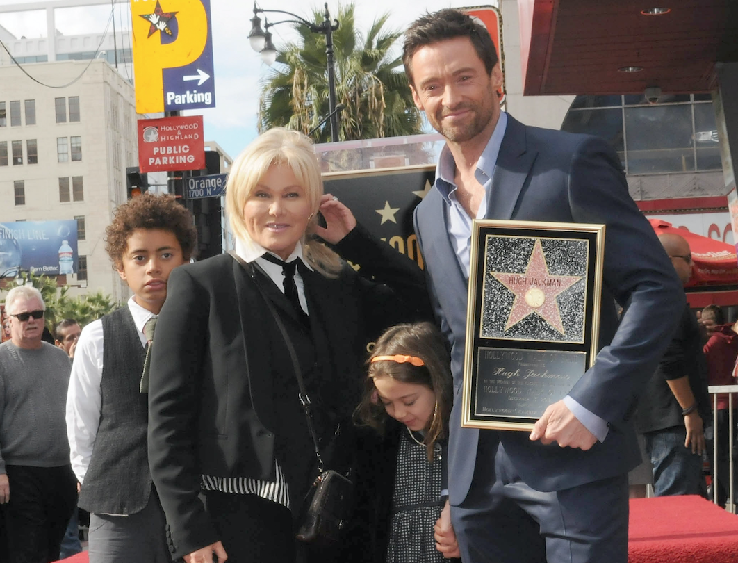 Hugh Jackman Family Getty