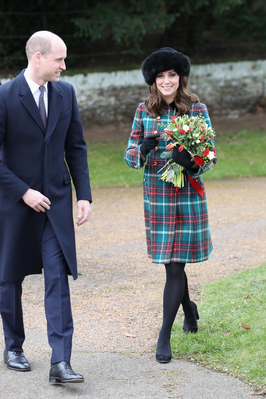 Kate Middleton Style Christmas 2017