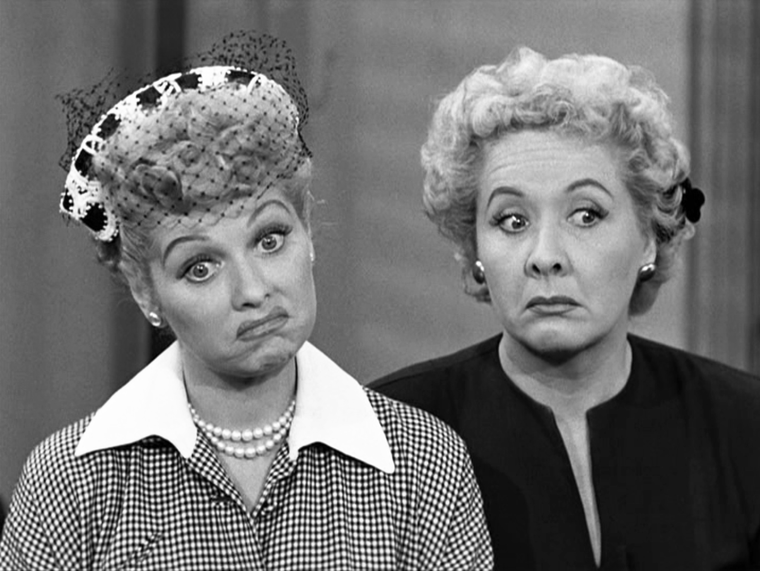 Lucille Ball Vivian Vance Getty