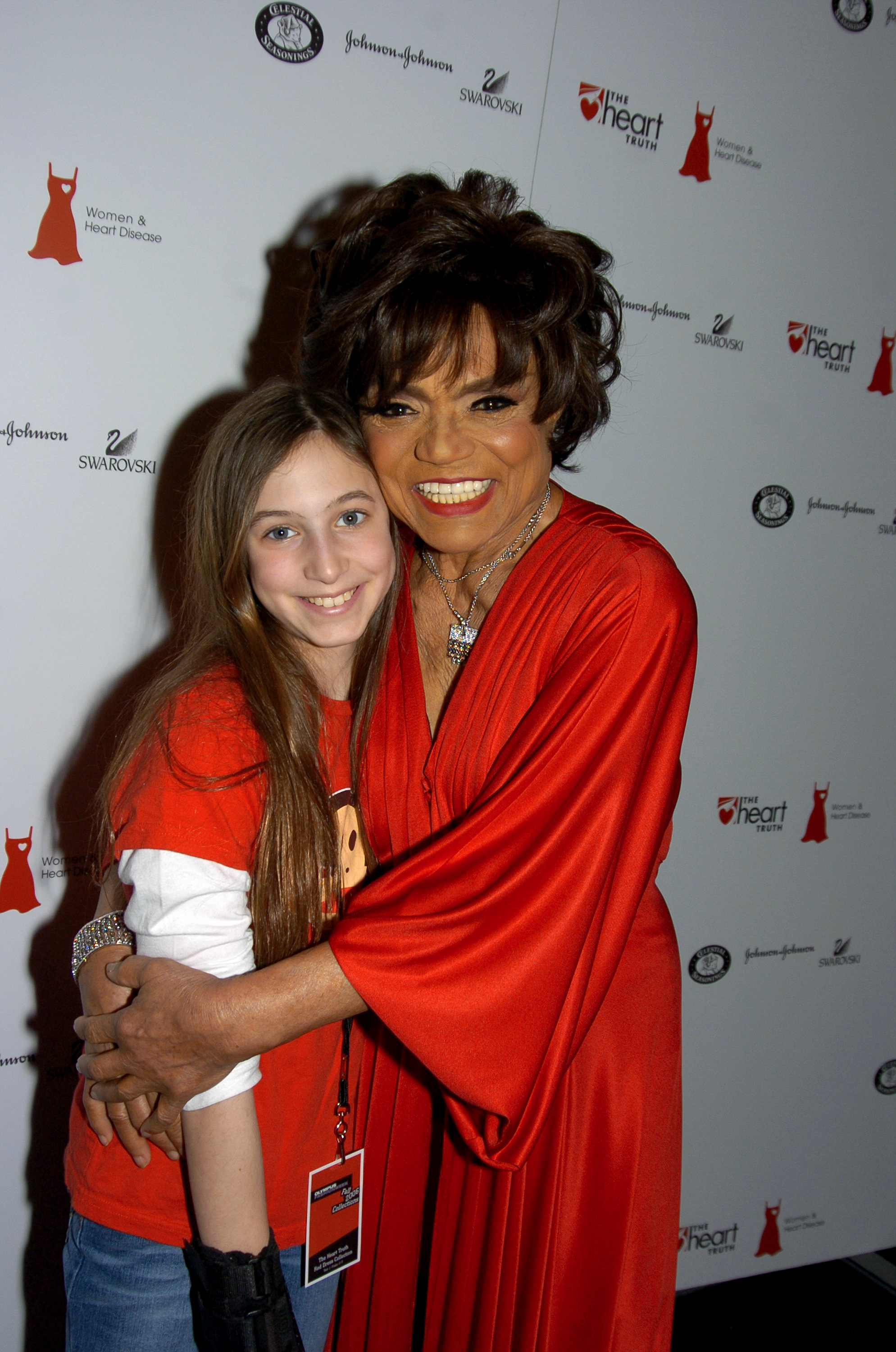Eartha Kitt and her granddaughter Getty Images