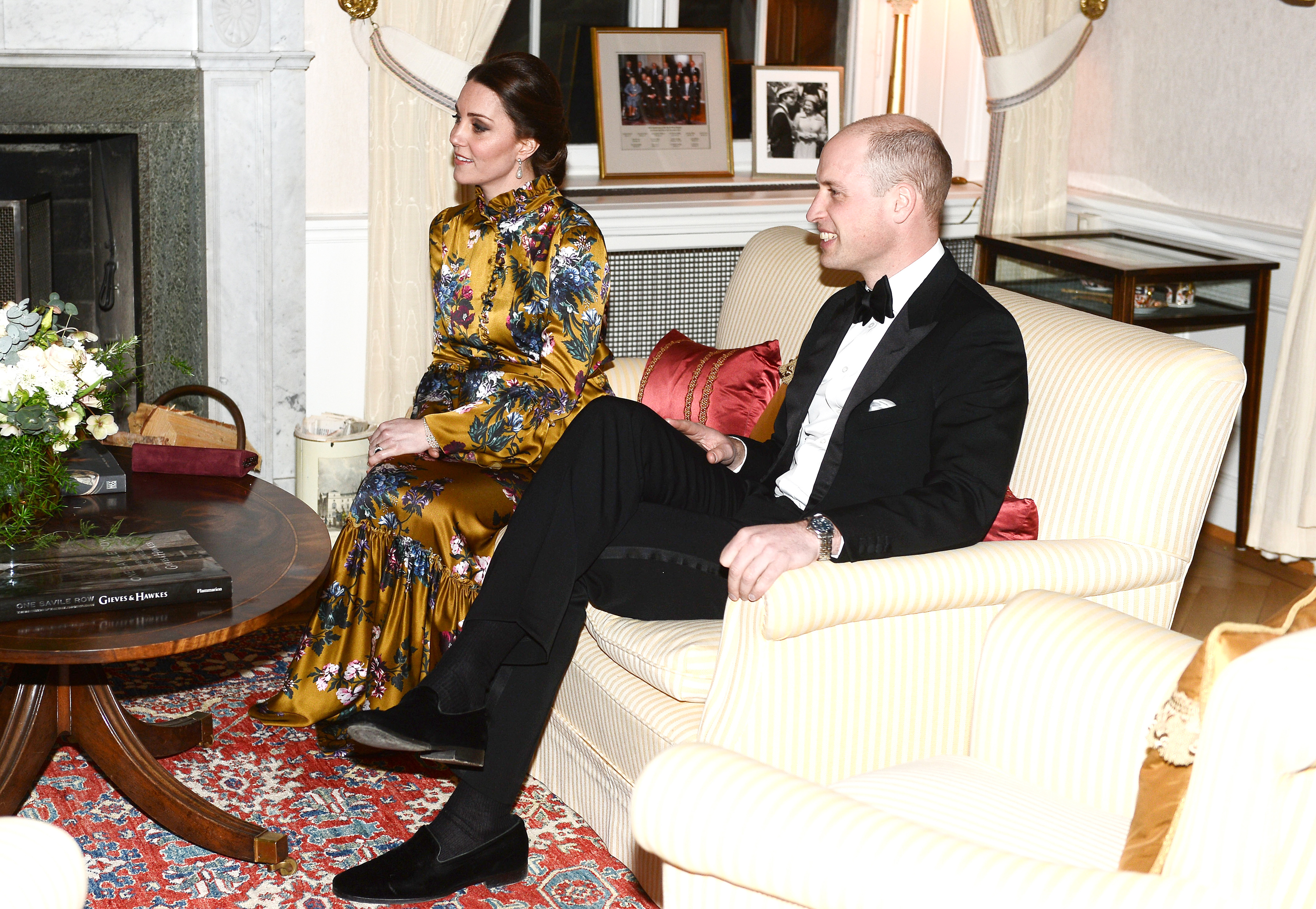 kate william Swedish dinner