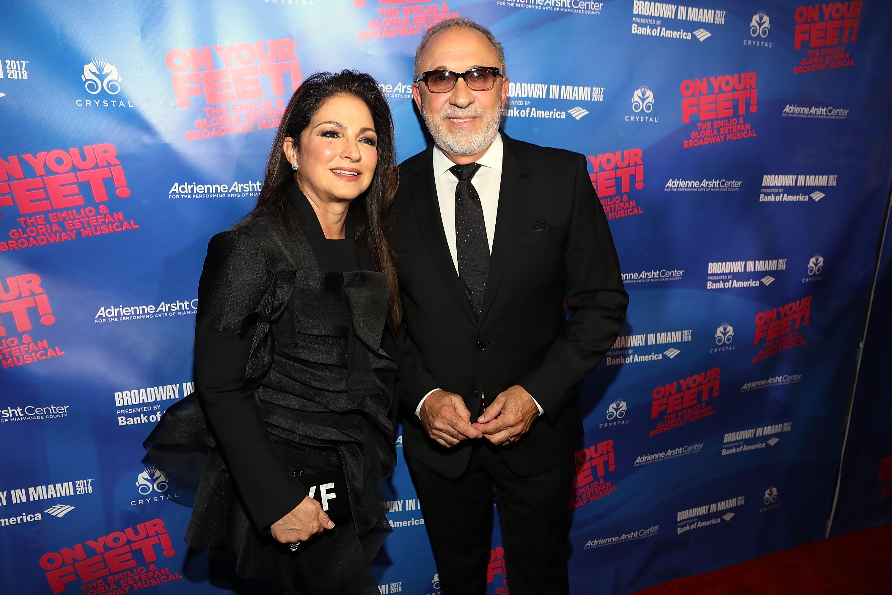 Gloria Estefan Emilio Estefan Getty Images