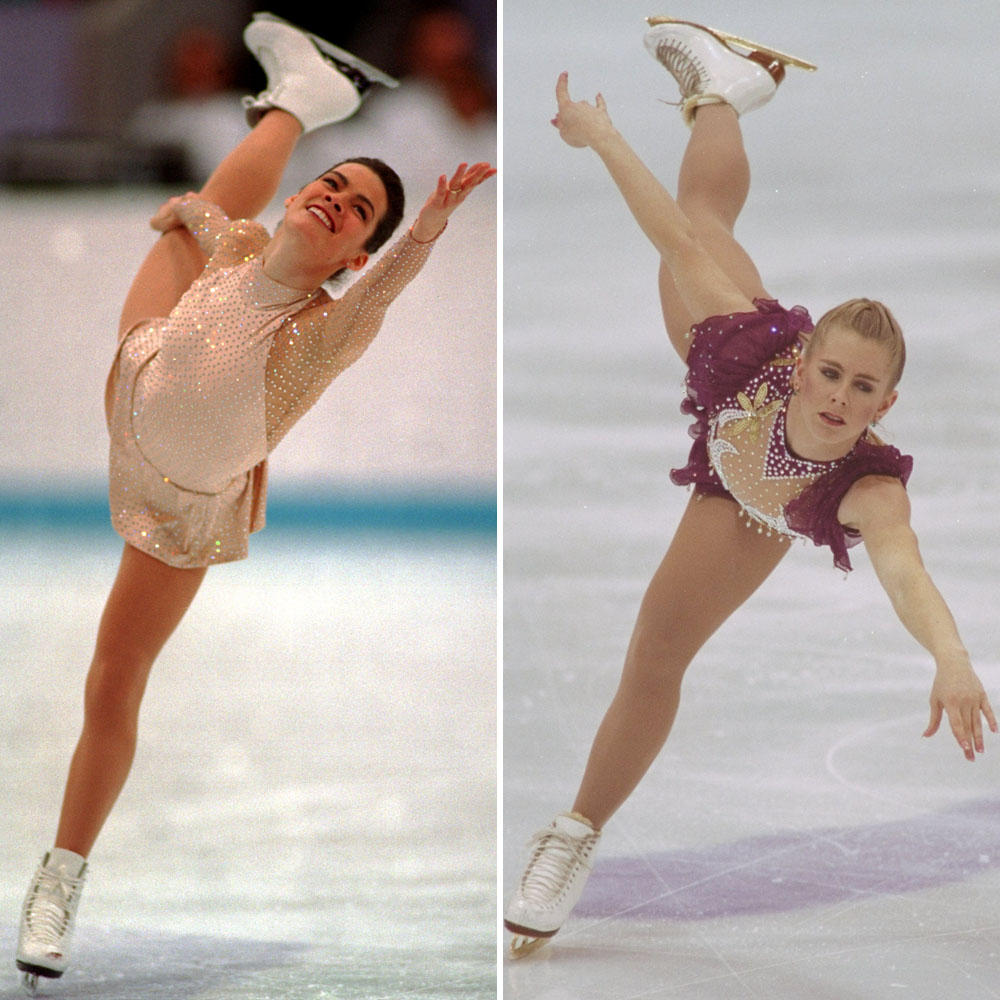 Nancy Kerrigan Tonya Harding Getty Images