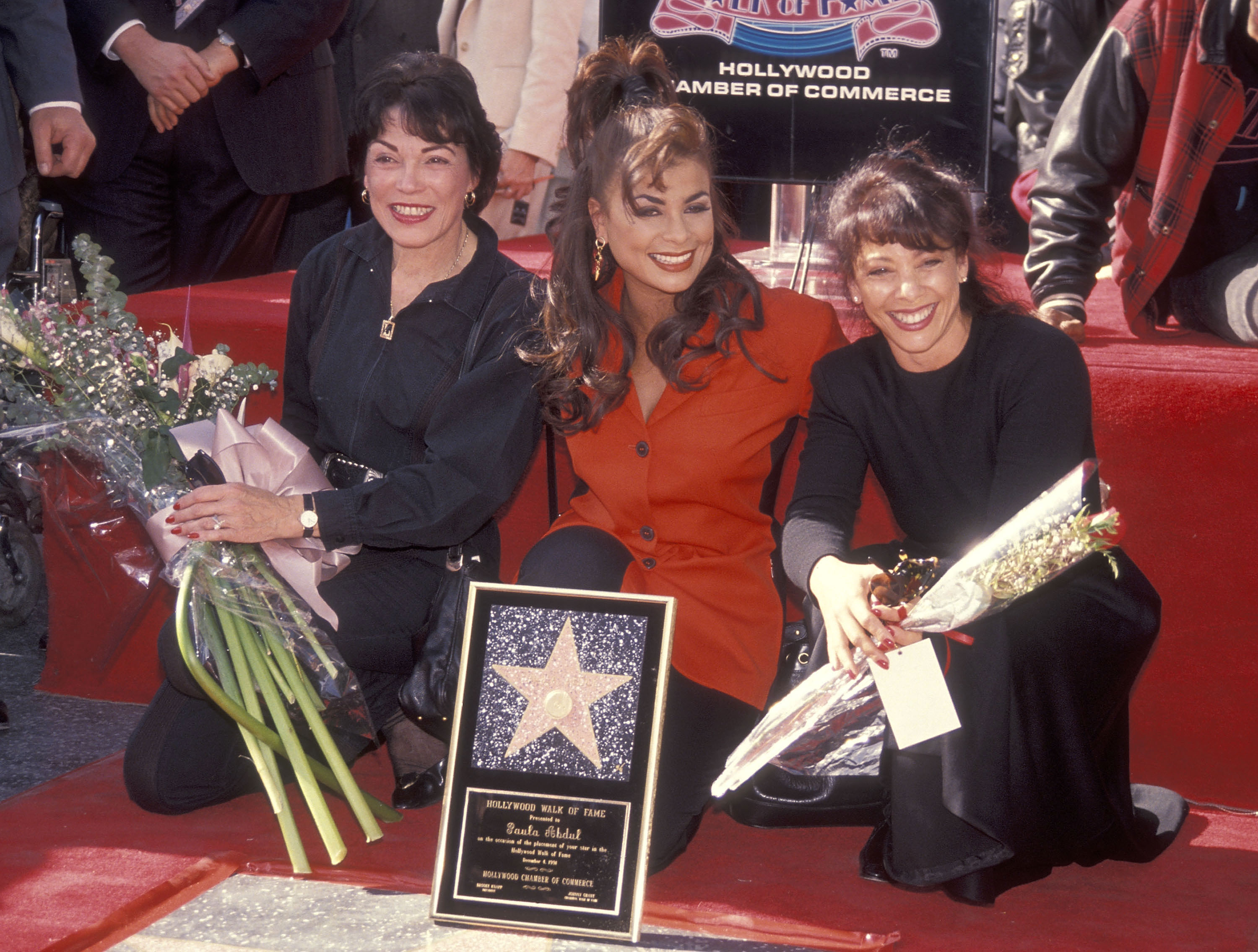 Paula Abdul Mom Getty Images