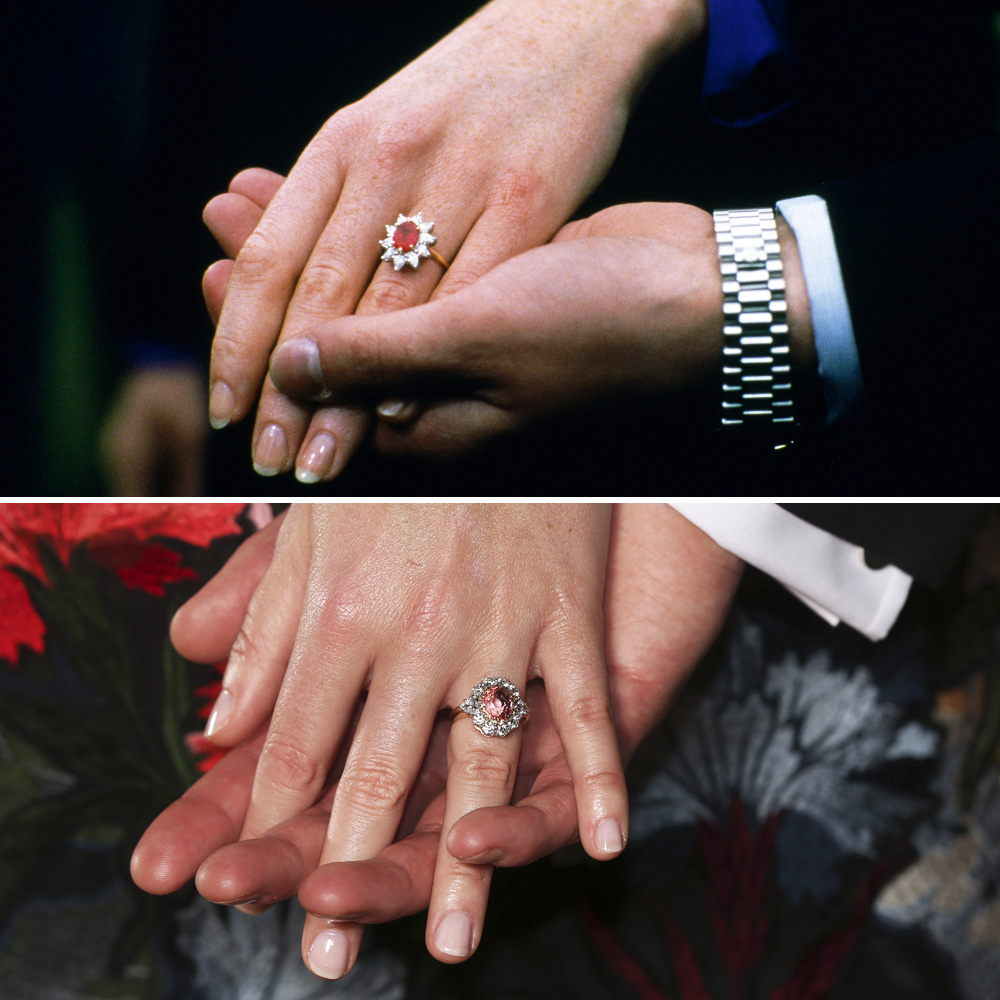 Princess Eugenie Sarah Ferguson Engagement Rings Getty Images