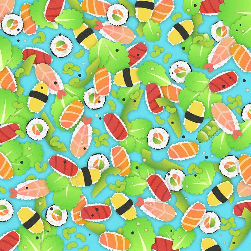 sushi puzzle