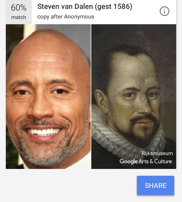 the rock doppelganger