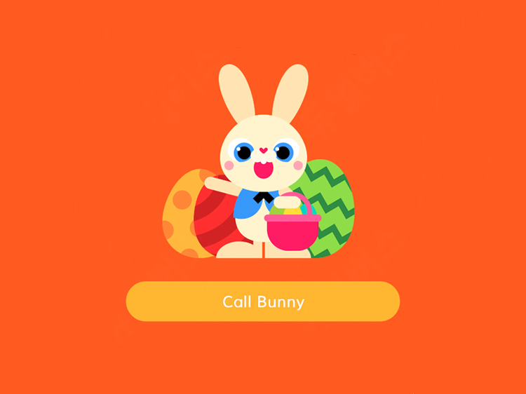 Kids Can Call the Easter Bunny For an Adorable Chat With This Free App