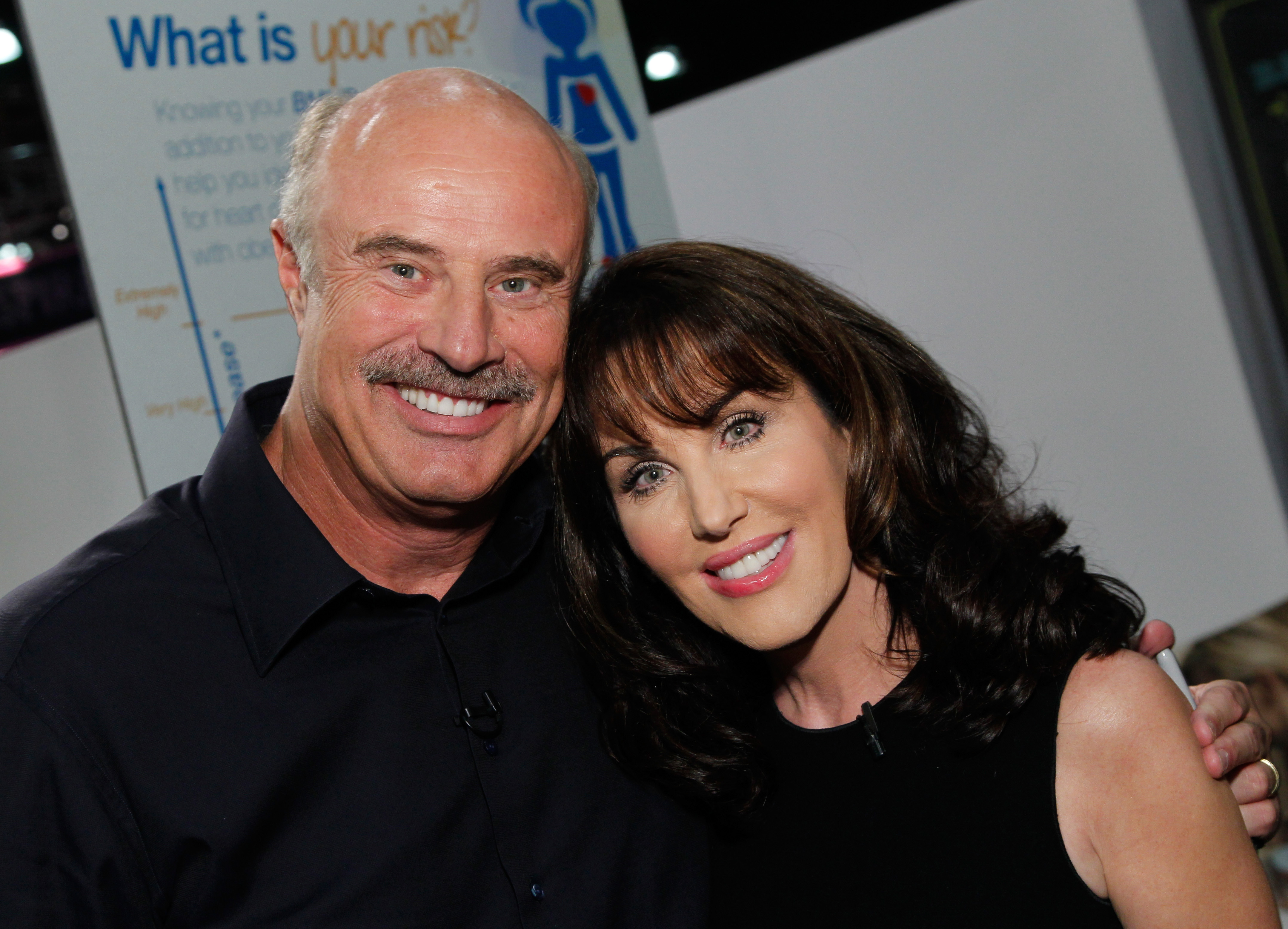 Dr Phil and Wife Robin