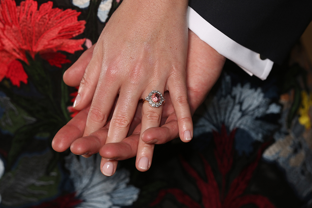 Princess Eugenie ring Getty