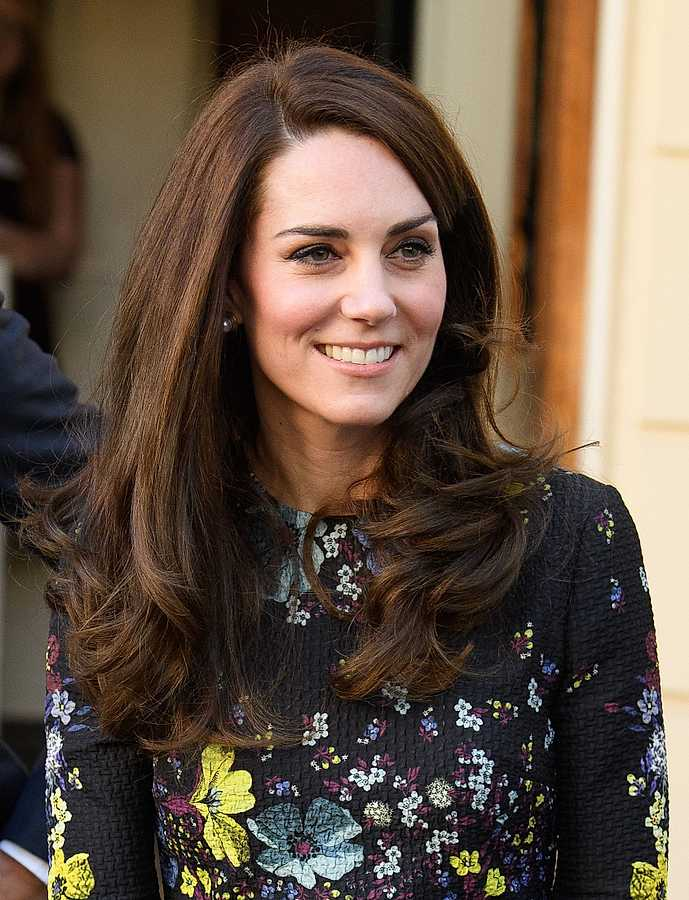 kate middleton blow dry