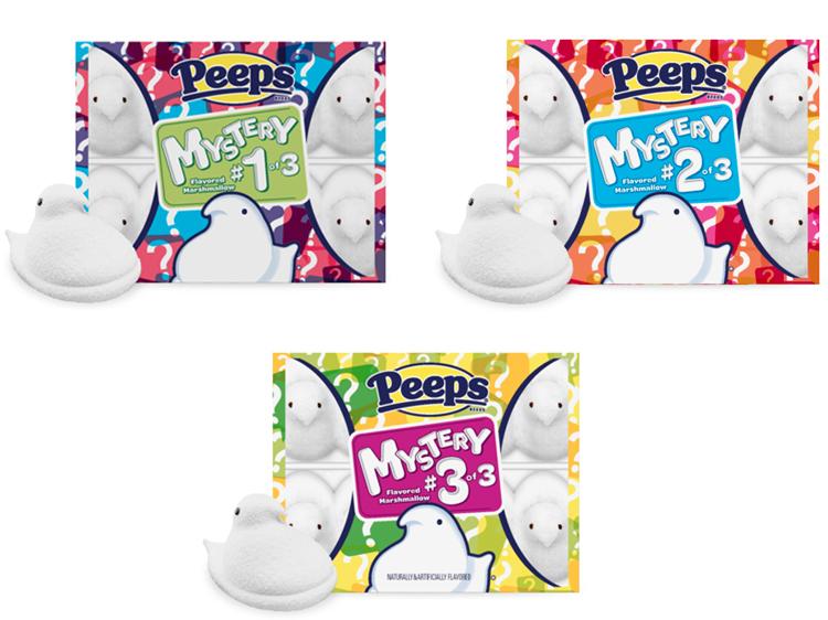 new mystery peep flavors