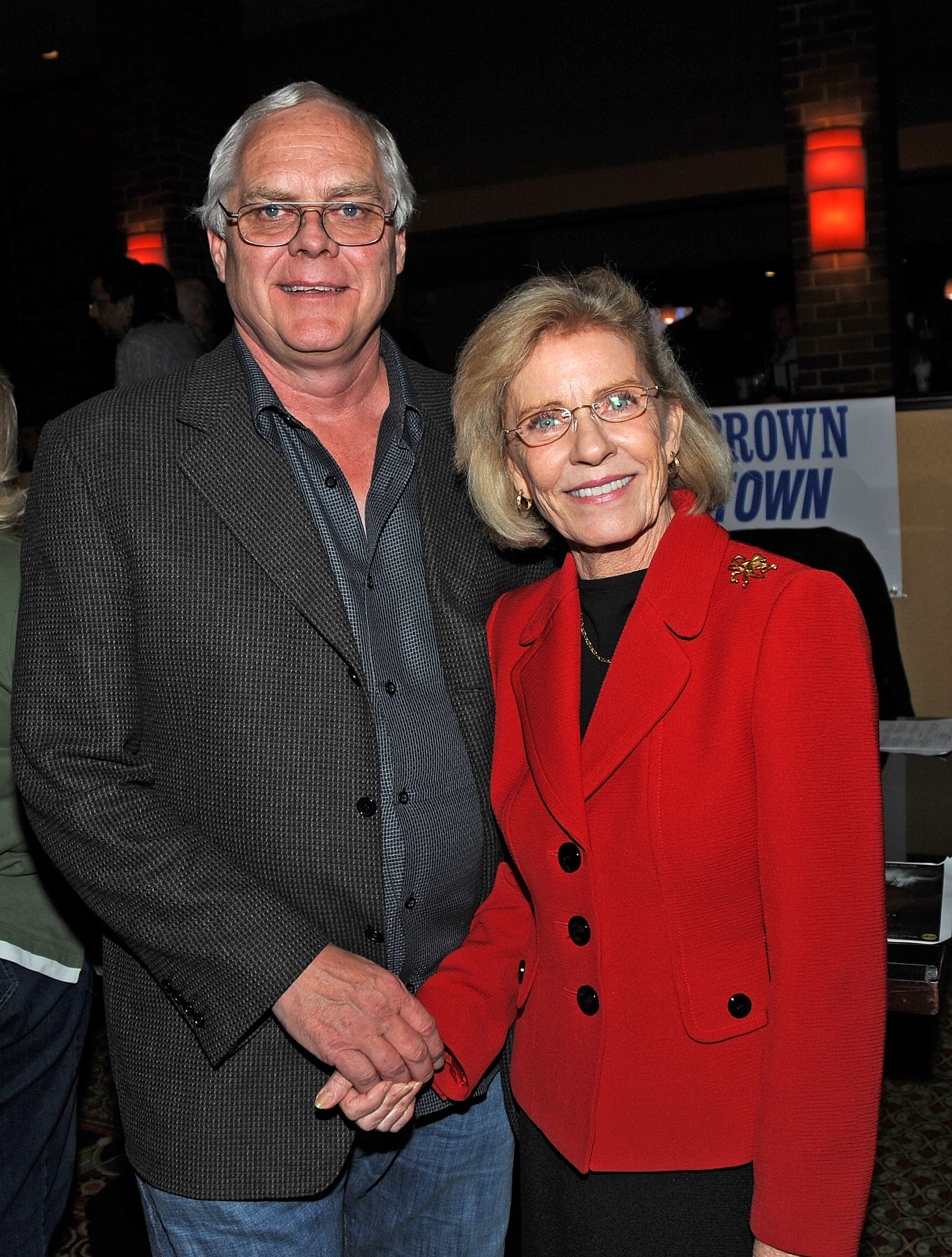 Patty Duke and her husband Getty Images