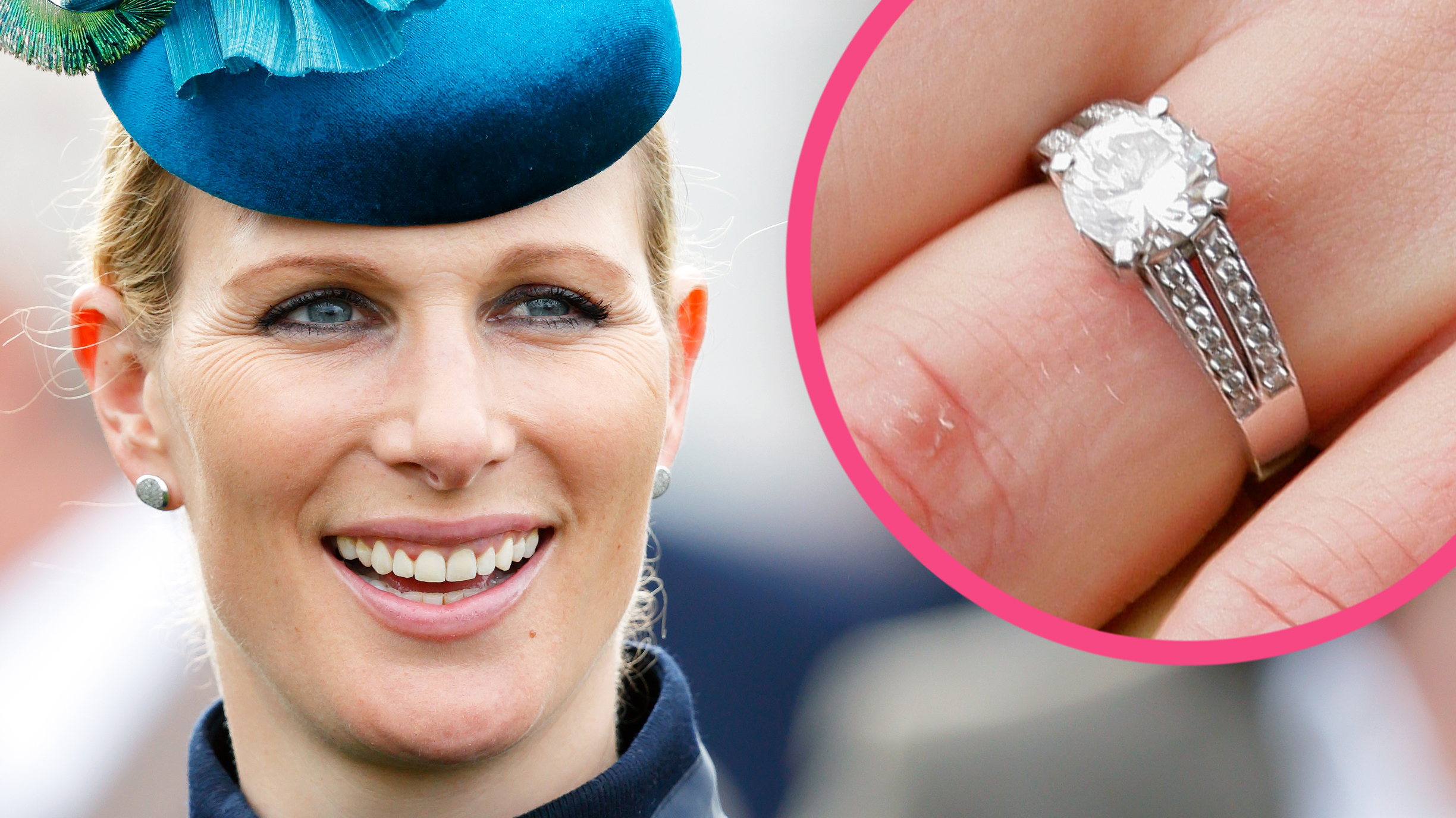 Zara Tindall Engagement Ring Getty Images