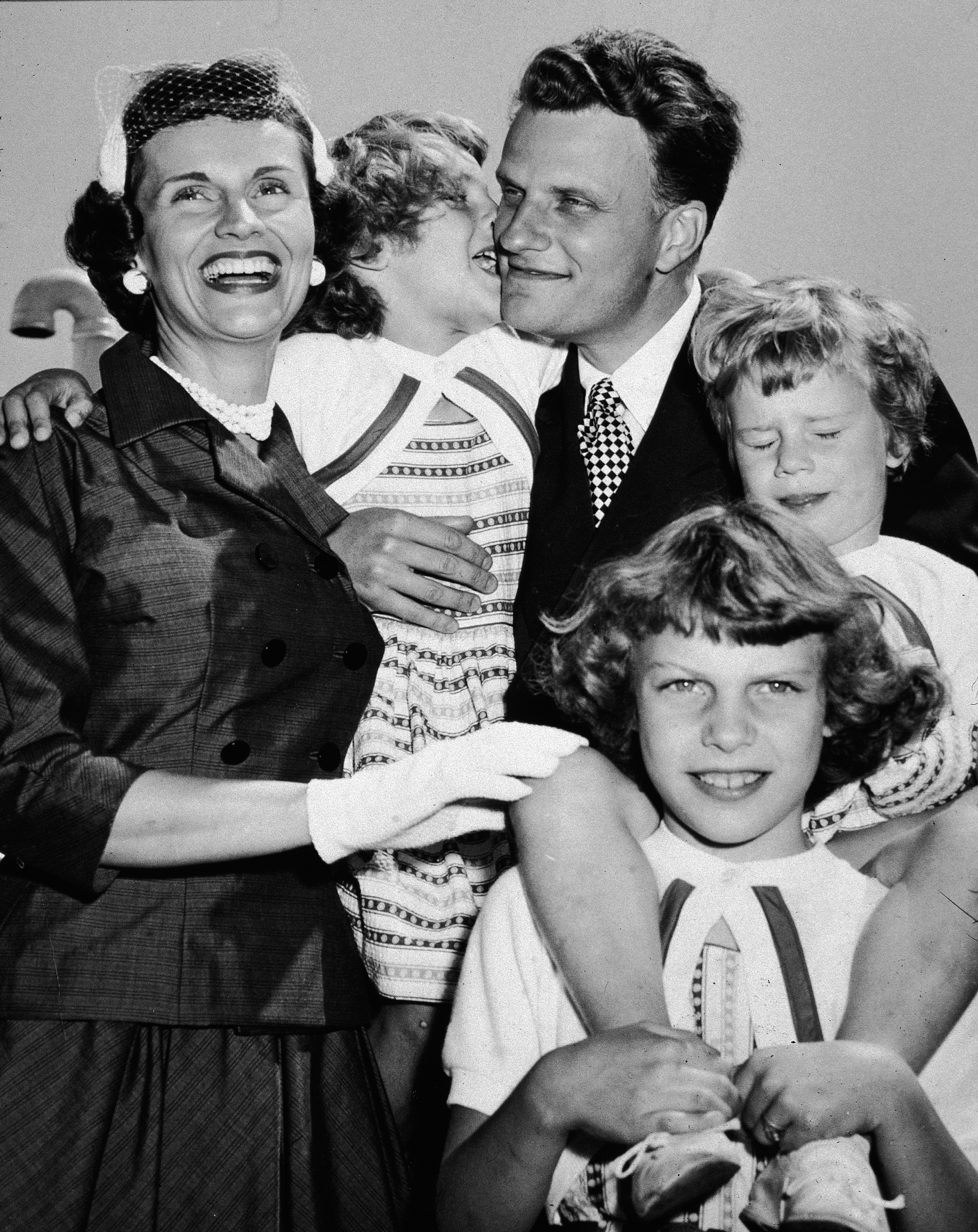 Billy Graham's Family Getty Images