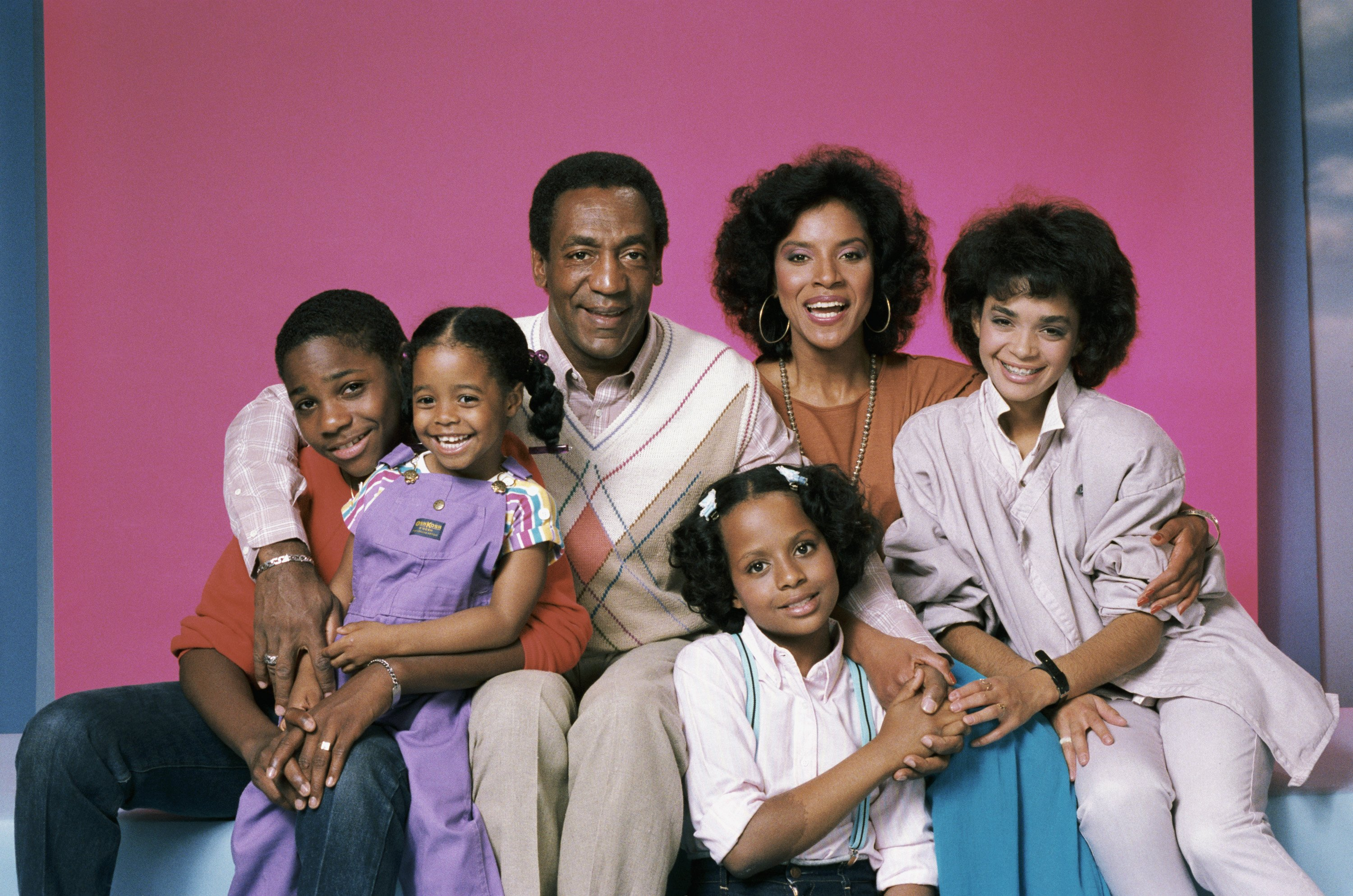 The Cosby Show cast Getty Images