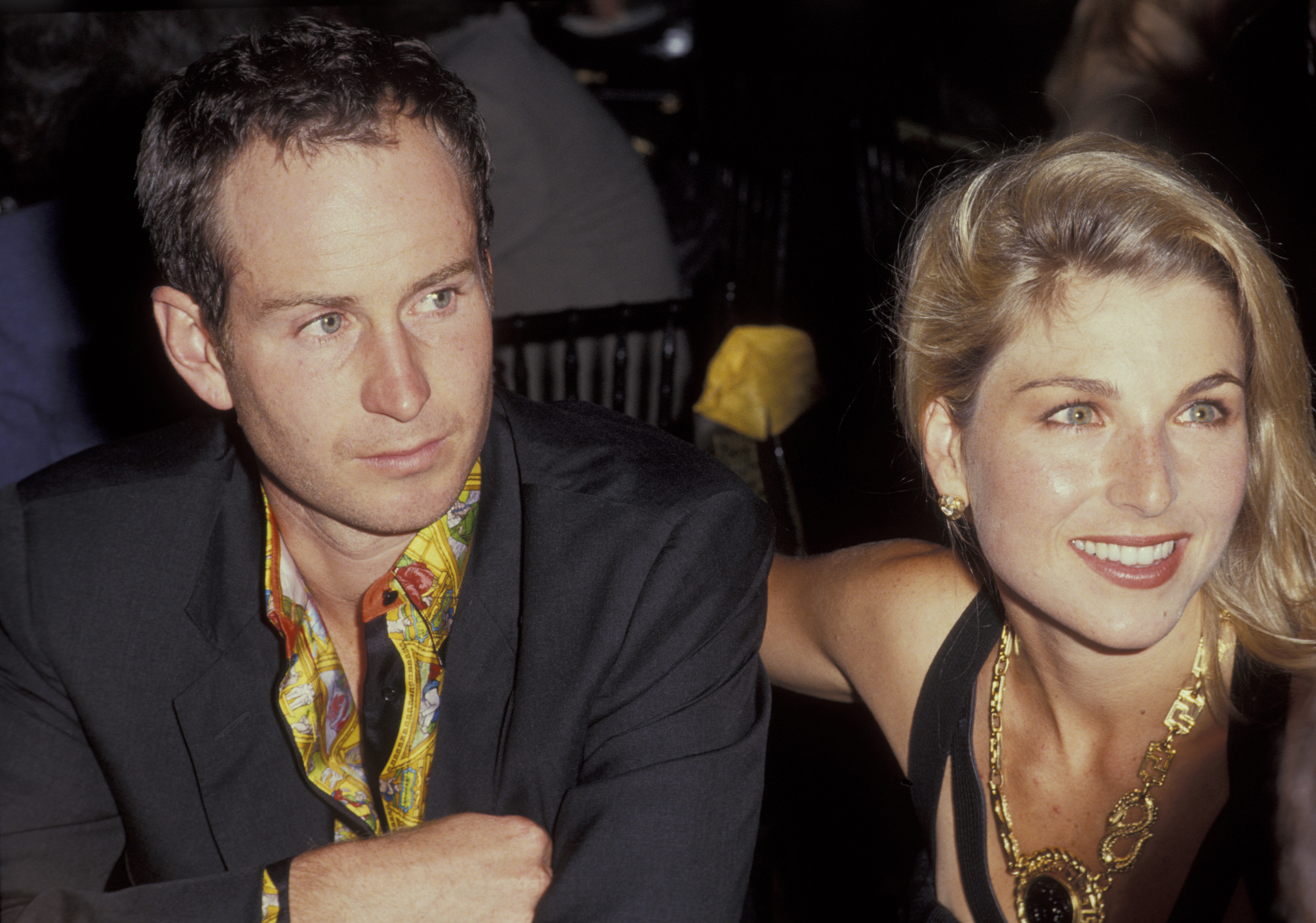Tatum O'Neal and John McEnroe Getty Images