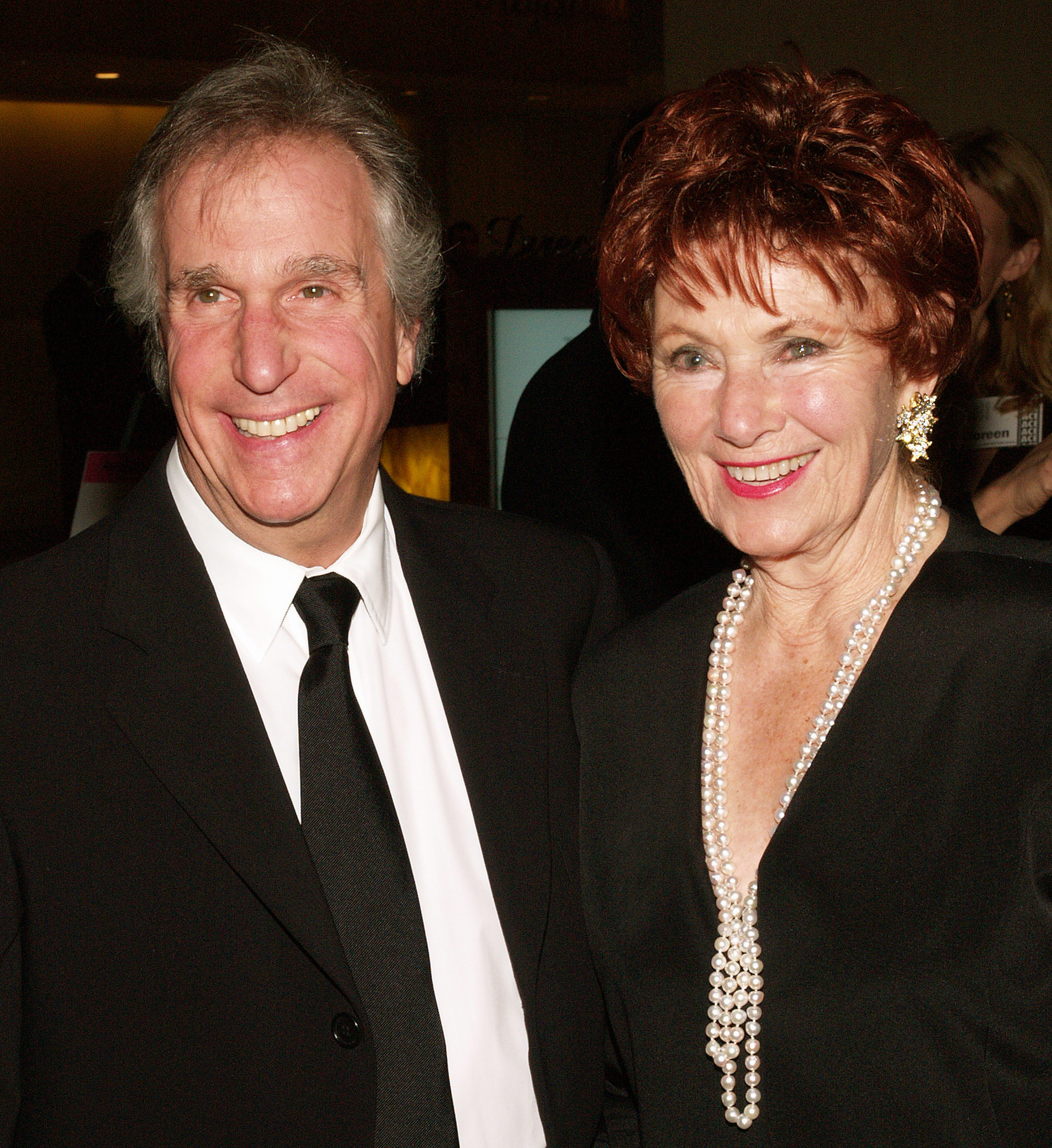 Marion Ross and Henry Winkler Getty Images