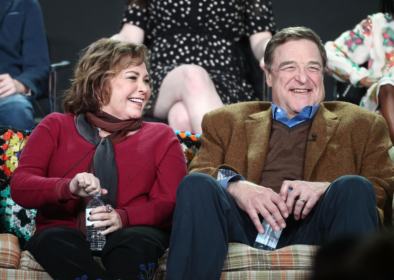 Roseanne Barr John Goodman Getty Images