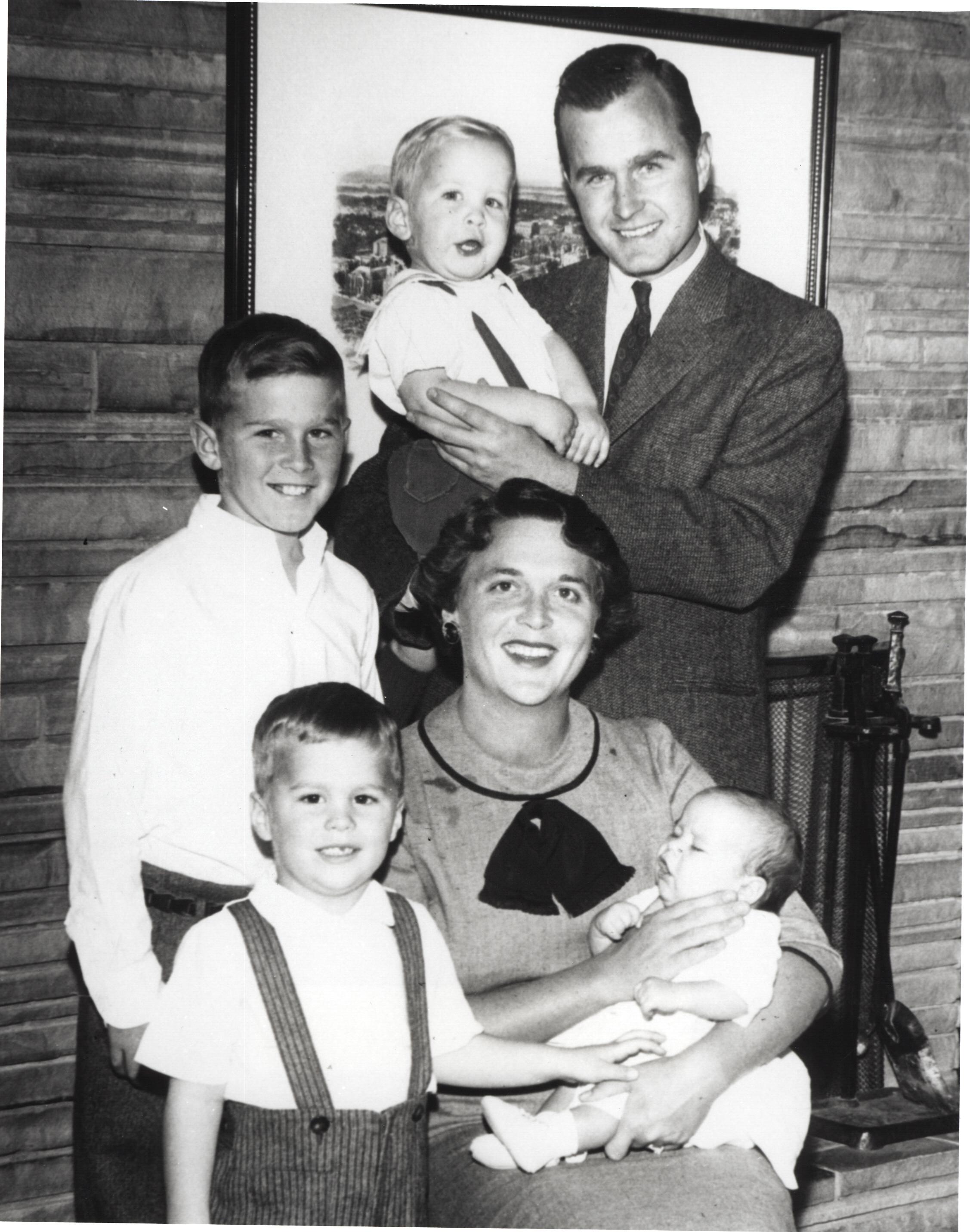 Barbara Bush Family Getty Images
