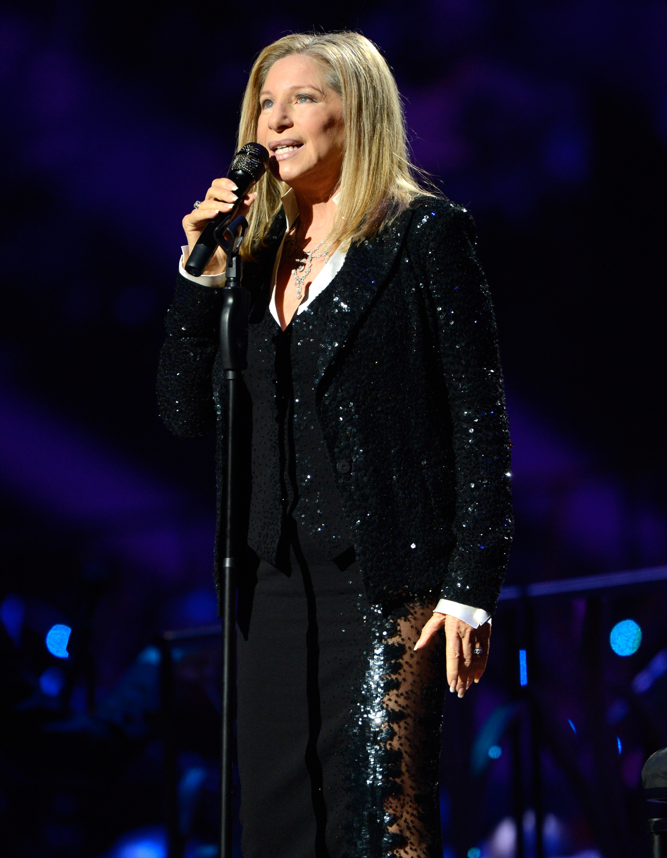 Barbra Streisand Getty Images