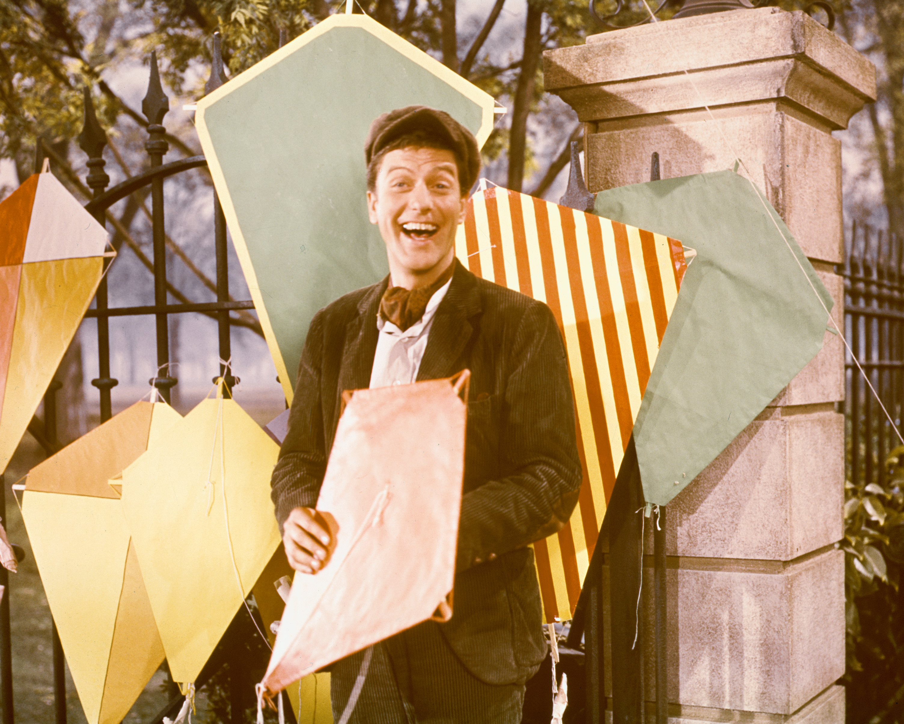 Dick Van Dyke Original 'Mary Poppins' Getty