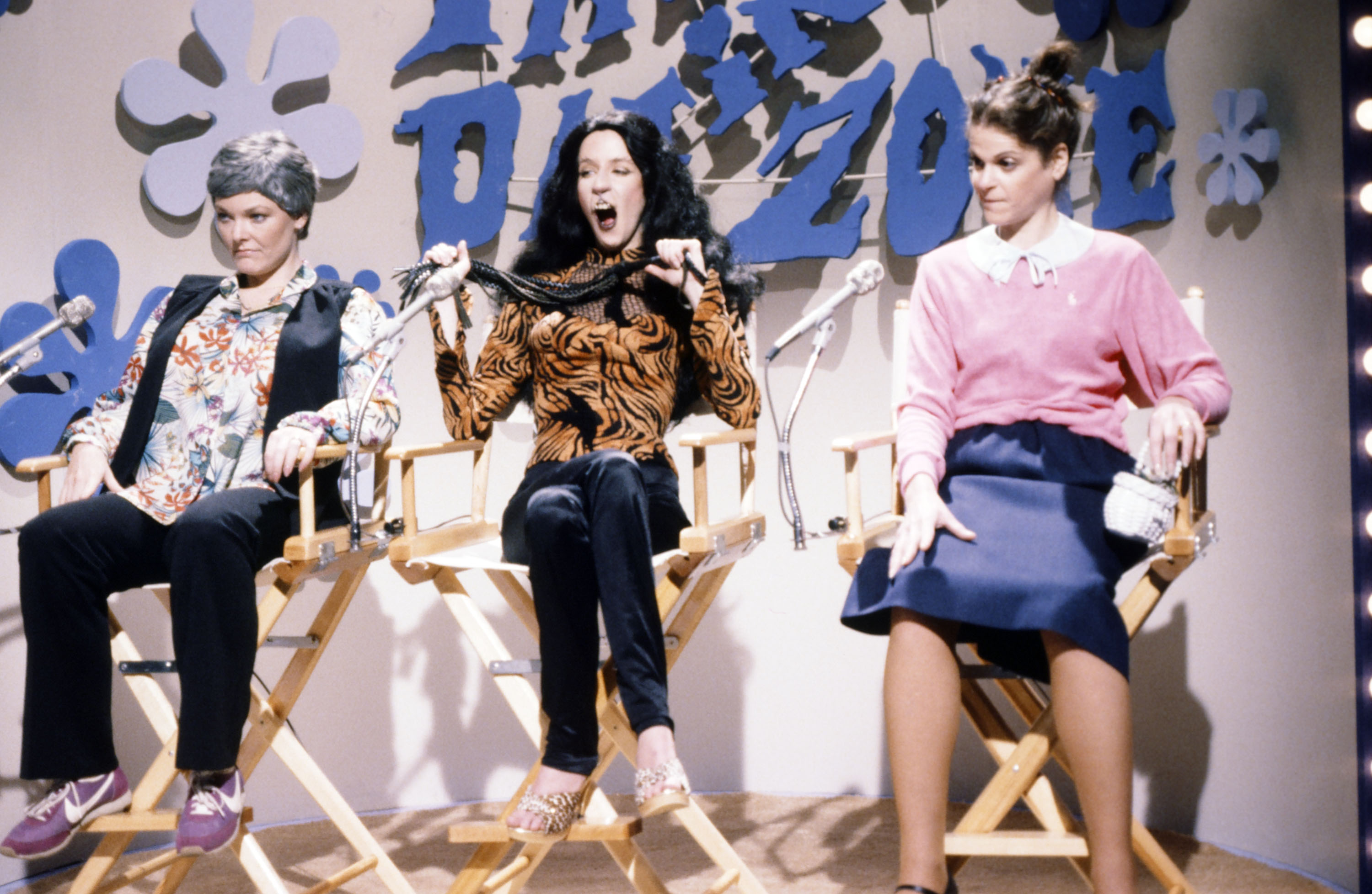 Jane Curtin with Laraine Newman and Gilda Radner Getty Images