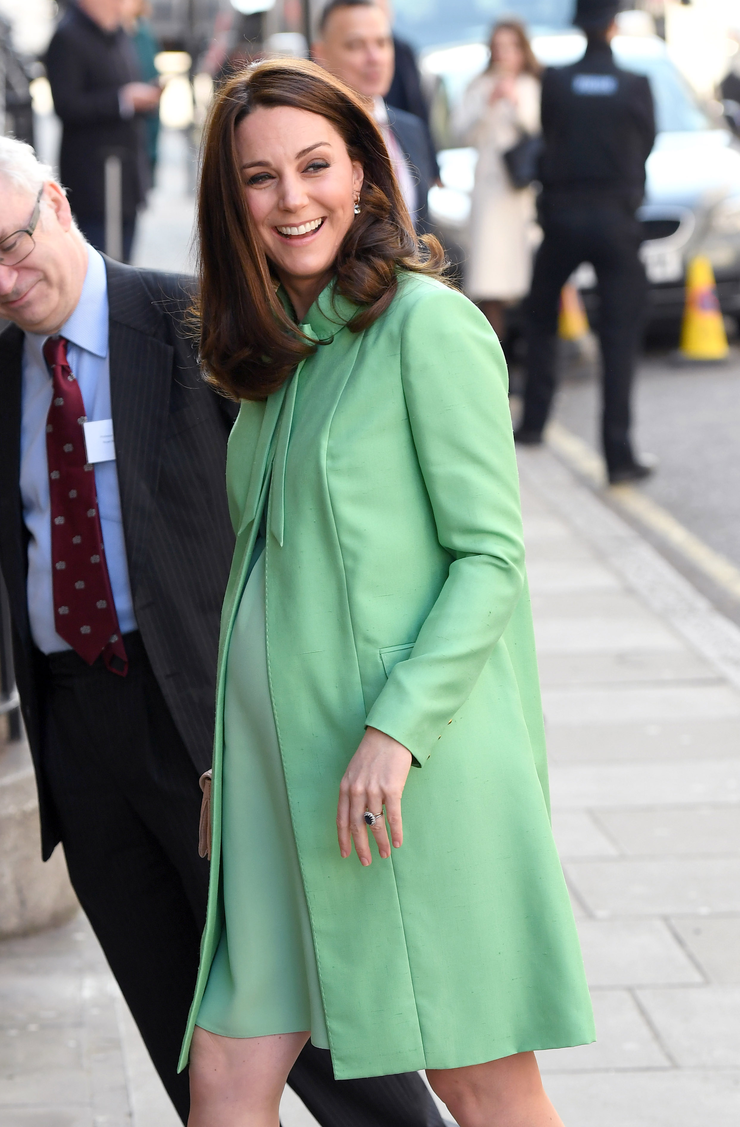 Kate Middleton Baby Bump Getty Images