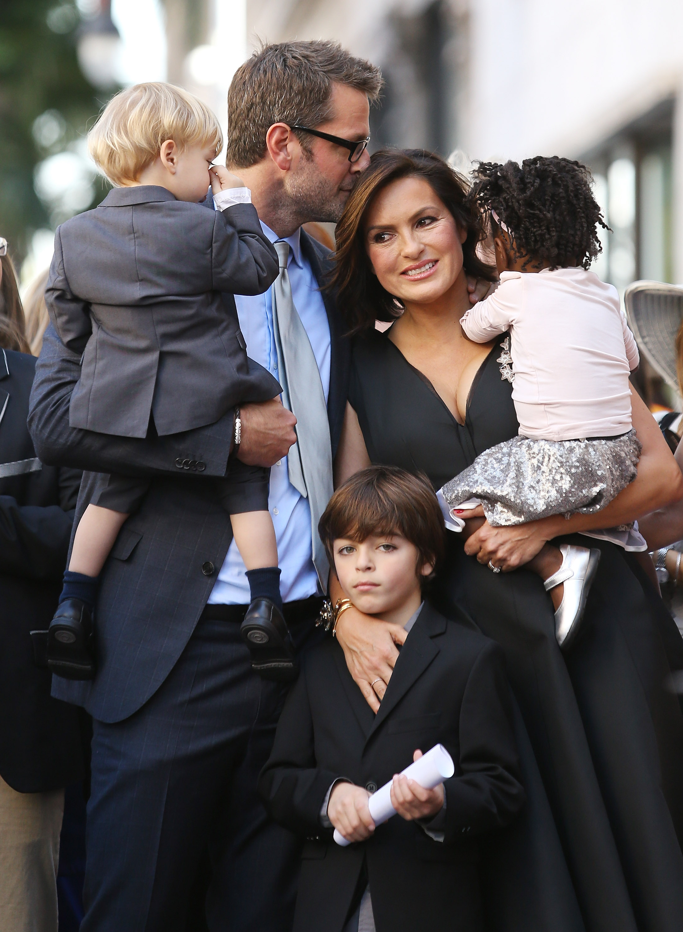 Mariska Hargitay Family Getty Images