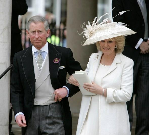Prince Charles Camilla Civil Ceremony Getty