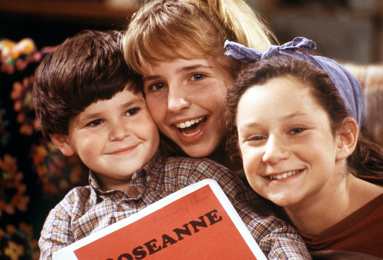 Sara Gilbert 'Roseanne' Getty Images