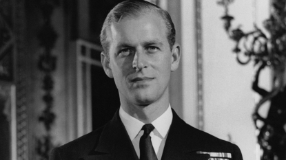 Prince Philip young
