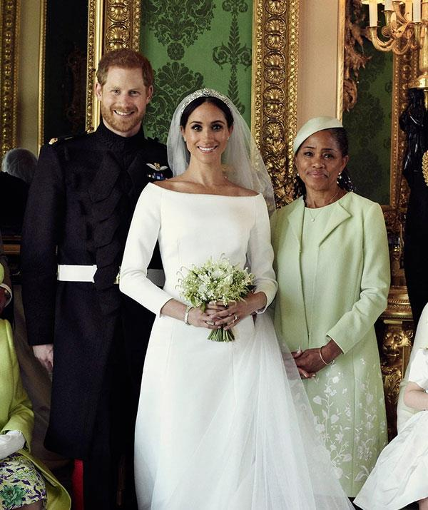 Doria Ragland Royal Wedding Portrait NTL