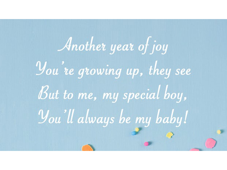 Remarkable Happy Birthday Son Poems From Mom To Make His Day Special Funny Birthday Cards Online Fluifree Goldxyz